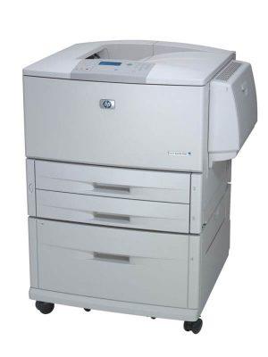Imprimante laser A3 HP Laserjet 9040TN, sertare suplimentare, retea