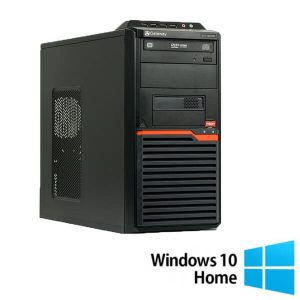 Calculatoare refurbished Gateway DT55 AMD Athlon II X2 255 3.10Ghz, 4Gb, 320Gb cu Windows 10 Home