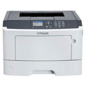 Imprimanta second hand laser monocrom Lexmark MS510dn, 42ppm, duplex, retea