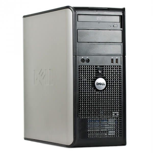 Calculatoare second tower Dell Optiplex 755 Dual Core E2220 2.4GHz 2GB 80GB