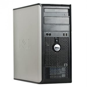 Calculatoare sh tower Dell Optiplex 755MT Core2Duo E8400 3.0GHz 2GB 160GB