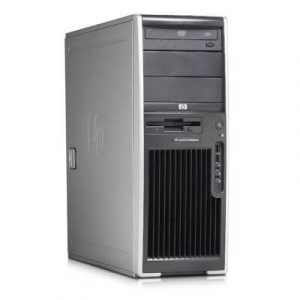 Statie grafica second hand HP Workstation XW4600 Intel Core2Duo E8400 3.0Ghz 4GB 160GB