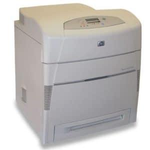 Imprimante laser color HP Laserjet 5550N Retea