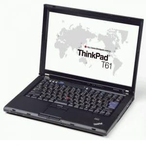 IBM Lenovo ThinkPad T61 T7300 2.0GHz/2GB/100GB