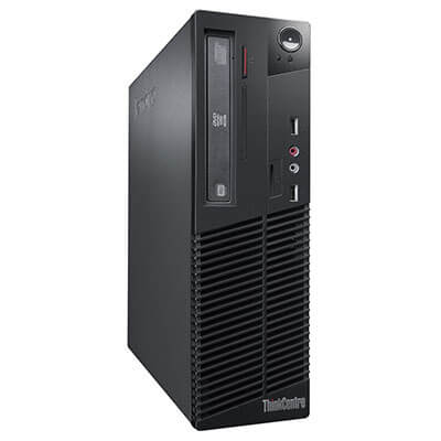 Calculatoare sh desktop Lenovo ThinkCentre M70e Core 2 Duo E7500 2.93Ghz/2GB ddr3/320GB/DVD-RW