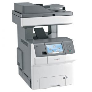 Multifunctionale second hand color Lexmark X746de, 33ppm